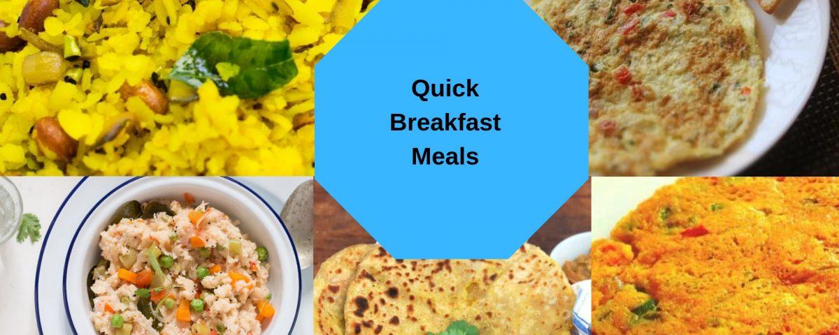 Quick Breakfast Meals