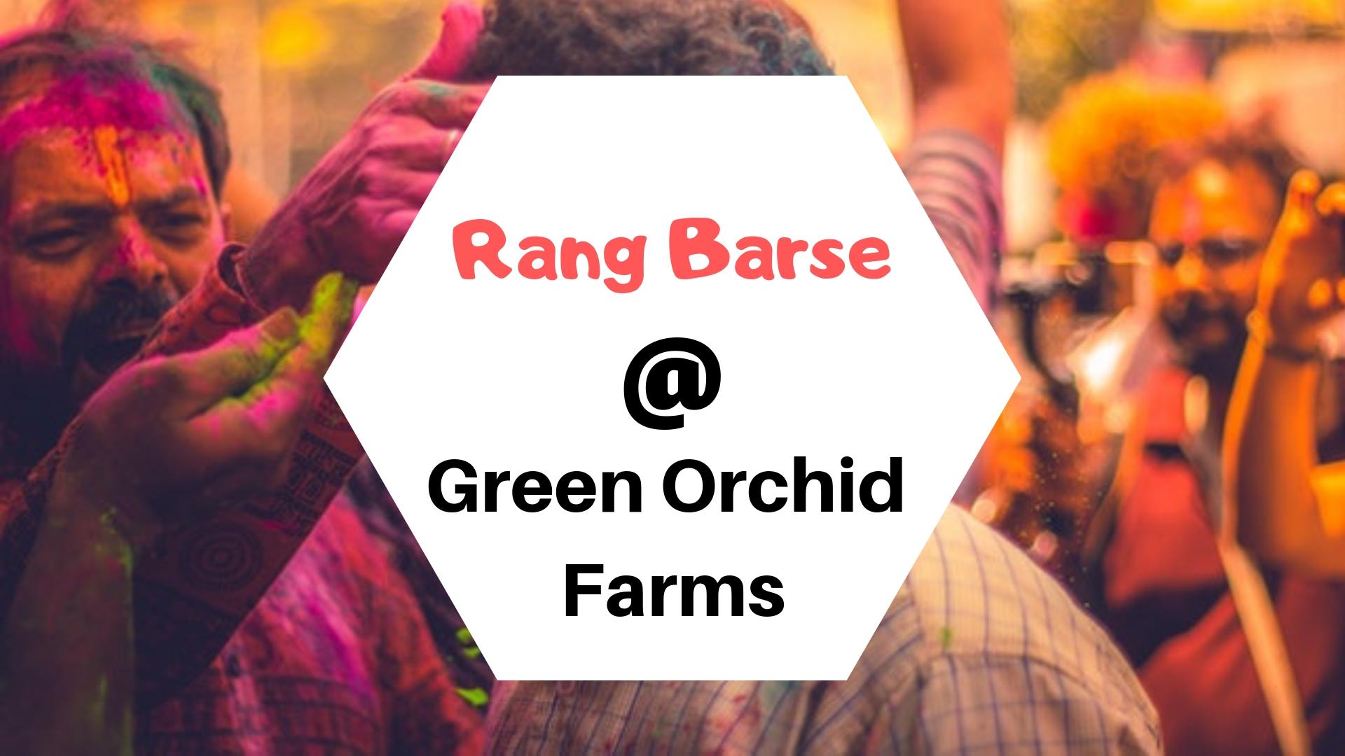 Rang Barse at Green Orchid Farms Gurgaon Roomsoom