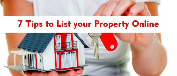 List your Property Online