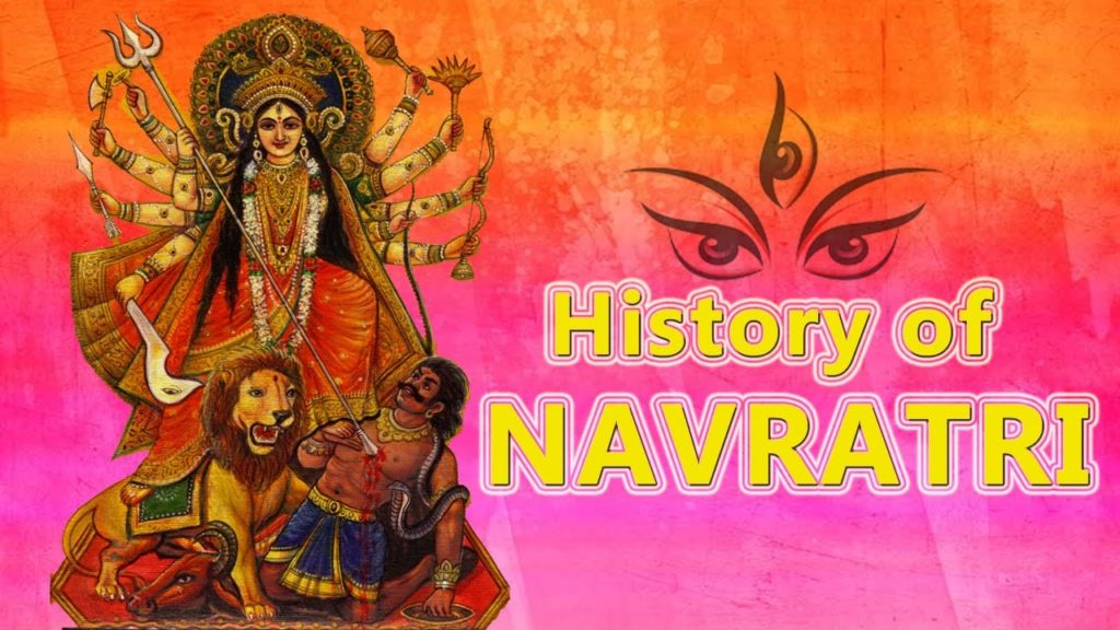 celebration of Navratri