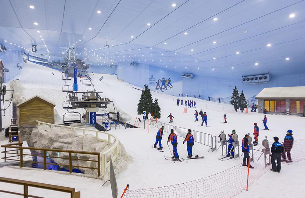 Snow World, DLF Mall