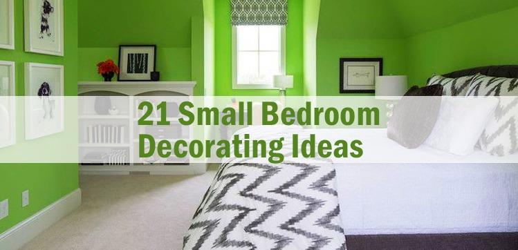 21 Small Bedroom Decorating Ideas Roomsoom