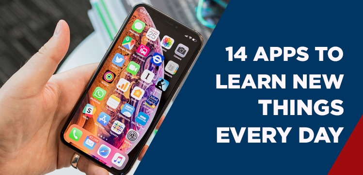apps to learn new things every day