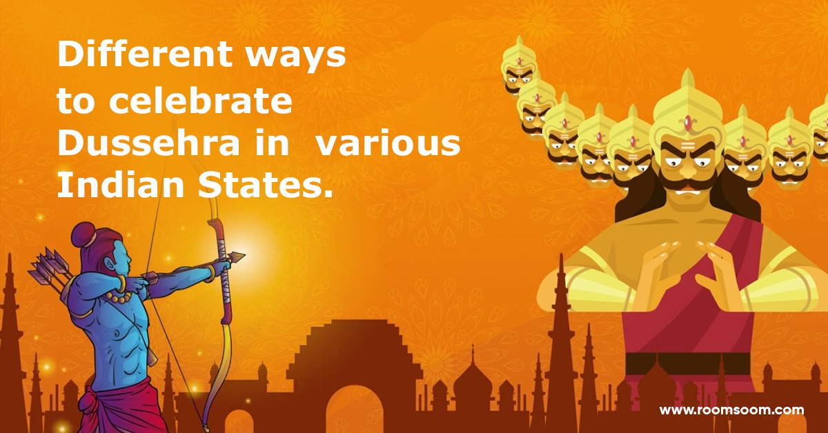 Diffrent ways to celebrate dussehra in indian states.