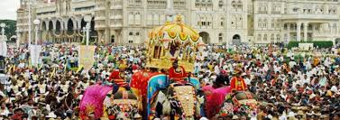 way to celebrated dussehra in karantaka